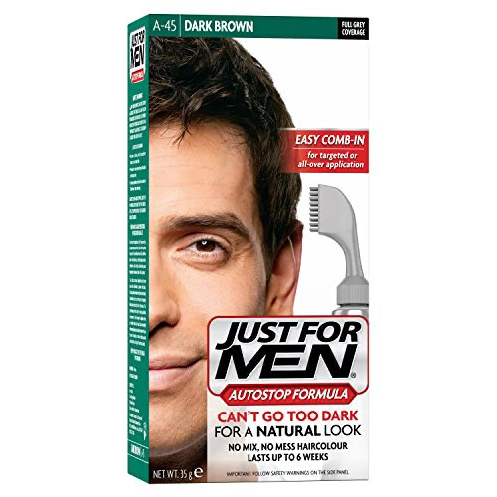 Just For Men Autostop Hair Color Dark Brown A45