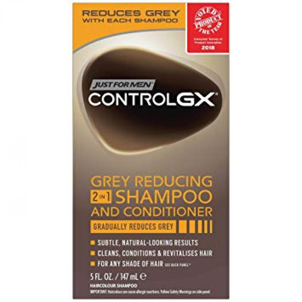 Just For Men Control GX 2-in-1 Shampoo and Conditioner 147ml