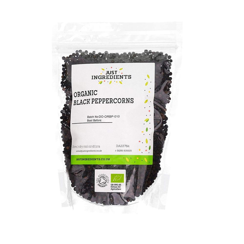 JustIngredients Black Peppercorns 1Kg