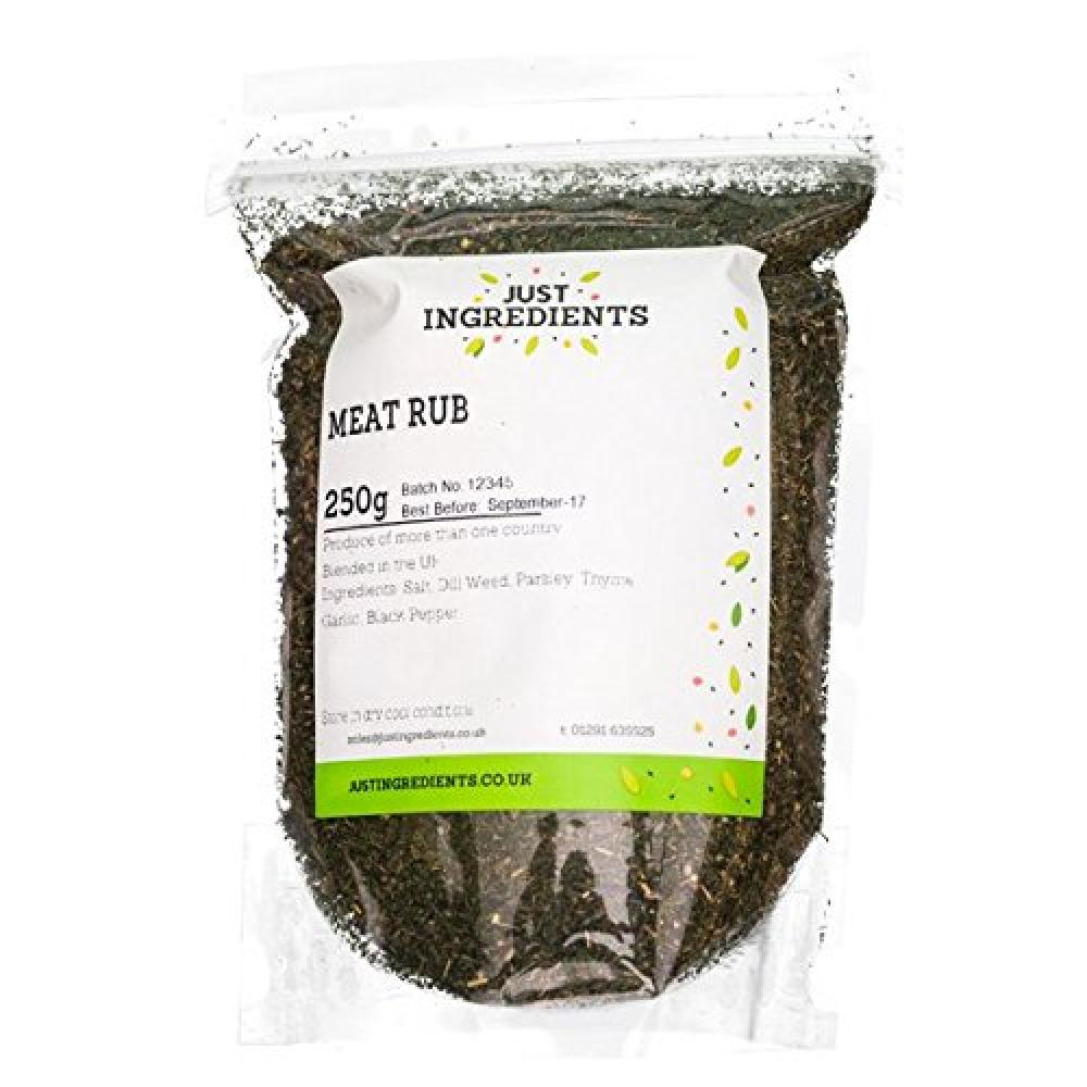 JustIngredients Essentials Meat Rub 250g