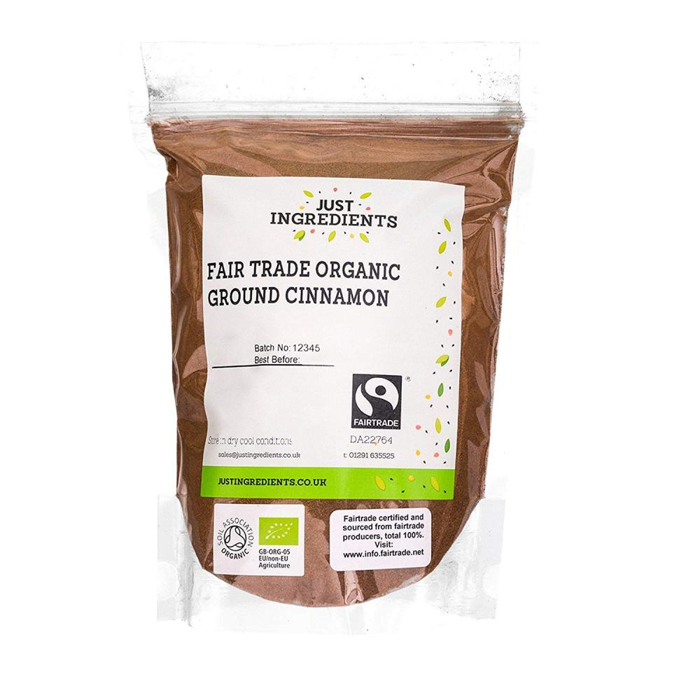JustIngredients Fairtrade Organic Ground Cinnamon 1kg