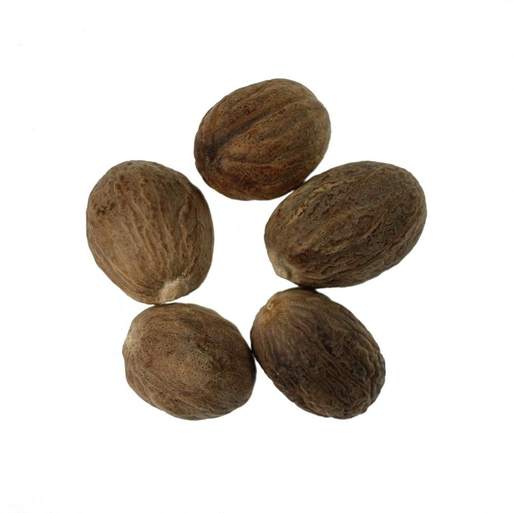 SALE  JustIngredients Fairtrade Organic Whole Nutmeg 500g