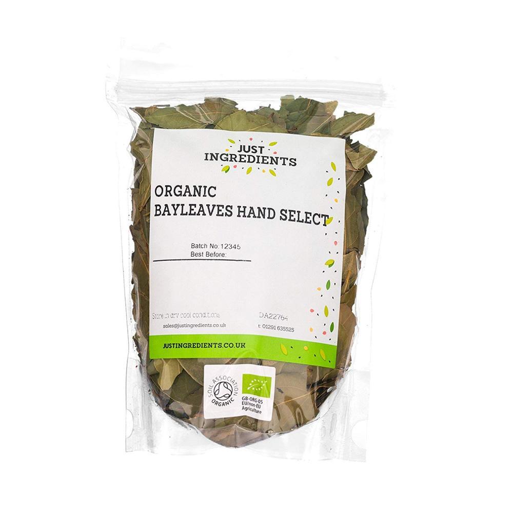 JustIngredients Organic Bay Leaves 500g