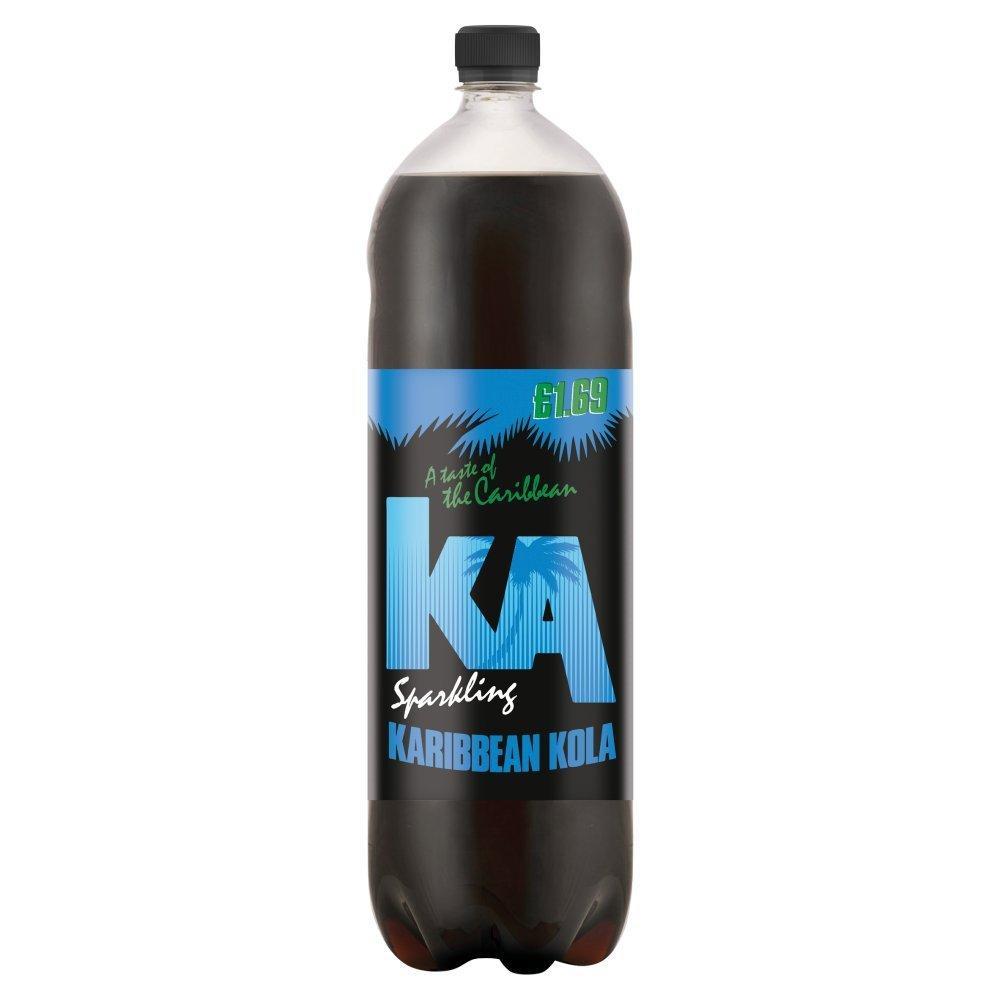 KA Sparkling Karibbean Kola Flavour Drink 2L
