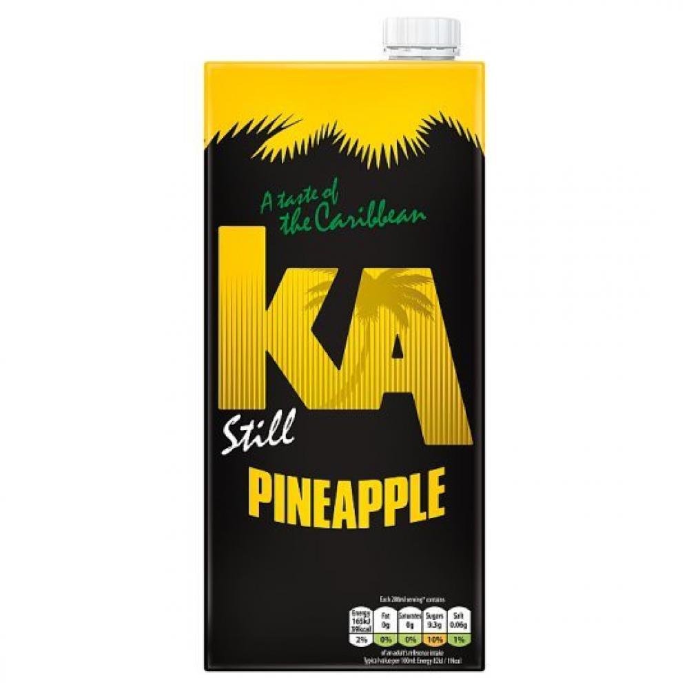 KA Still Pineapple Juice Drink 1L