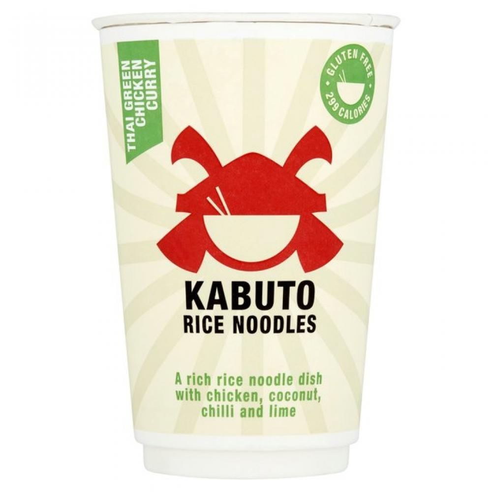 Kabuto Thai Green Chicken Curry Rice Noodles 65g