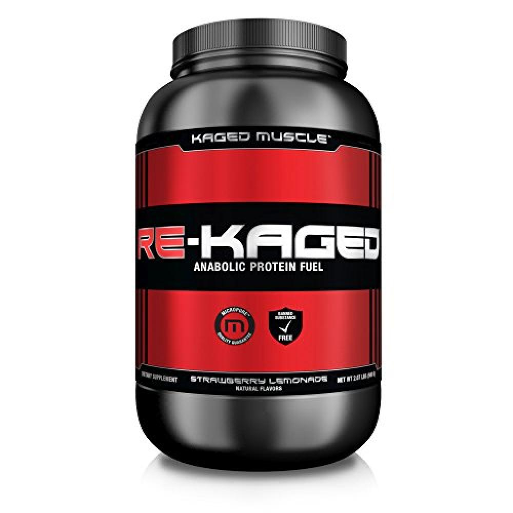 Kaged Muscle Re-Kaged Post Workout Recovery FuelStrawberry Lemonade20 Count 940g