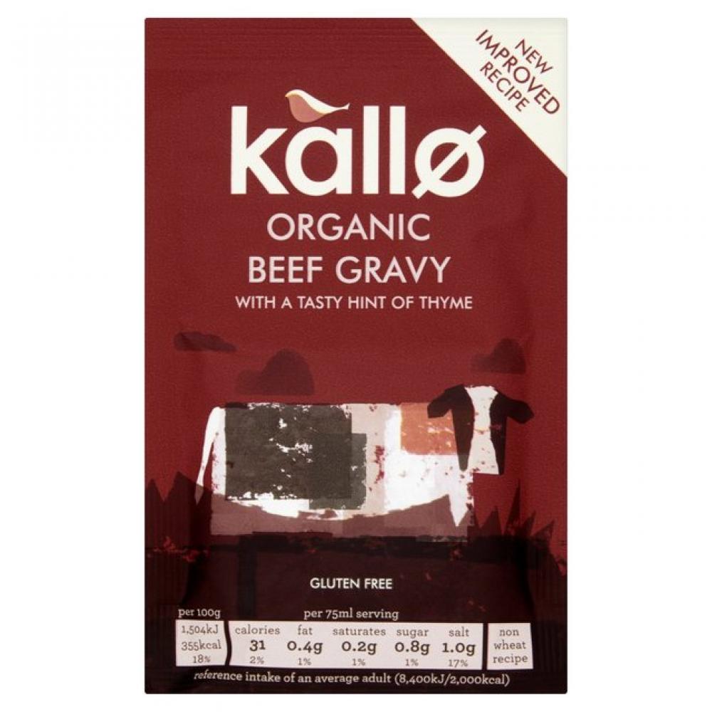 Kallo Organic Beef Gravy 35g