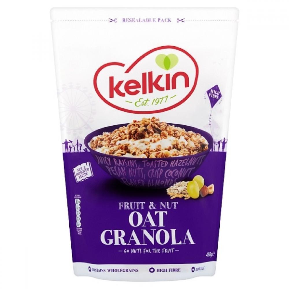 SALE  Kelkin Fruit and Nut Oat Granola 450g