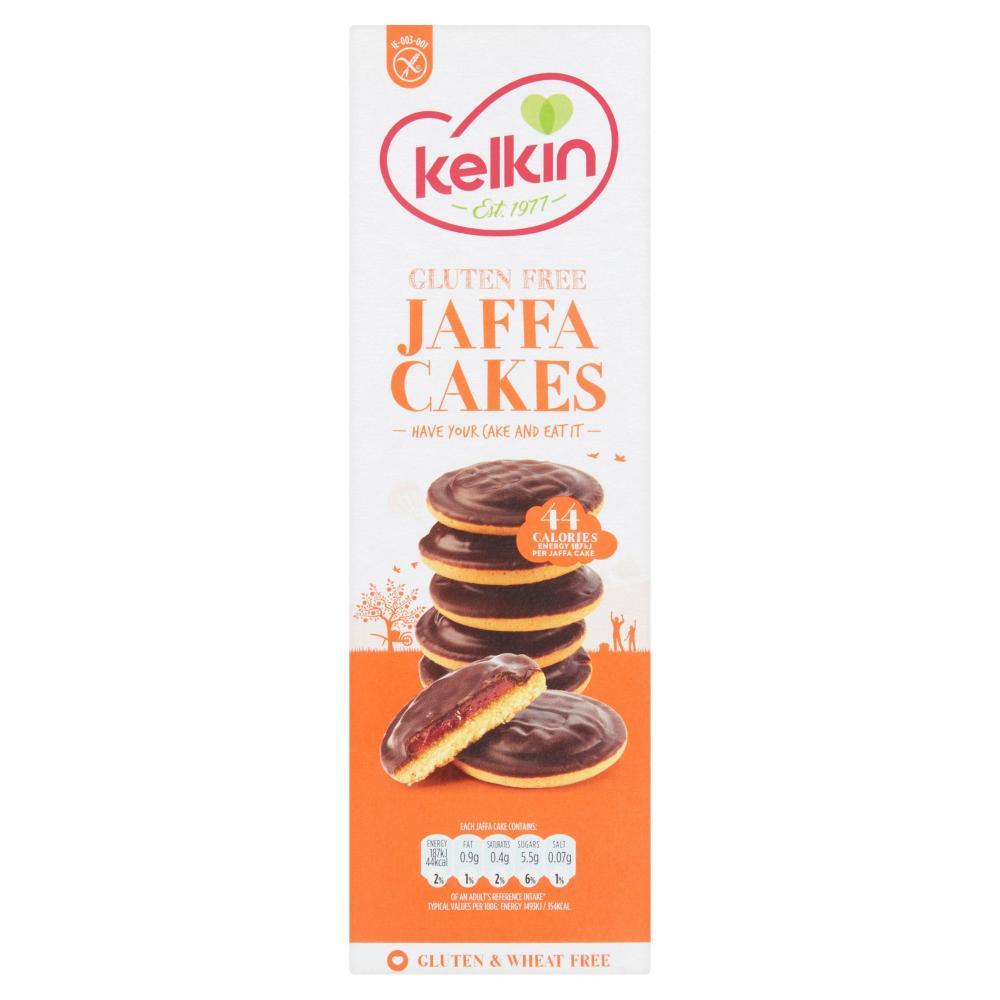 SALE  Kelkin Gluten Free Jaffa Cakes 150g
