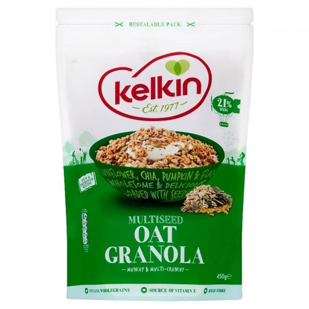 Kelkin Multiseed Oat Granola 450g
