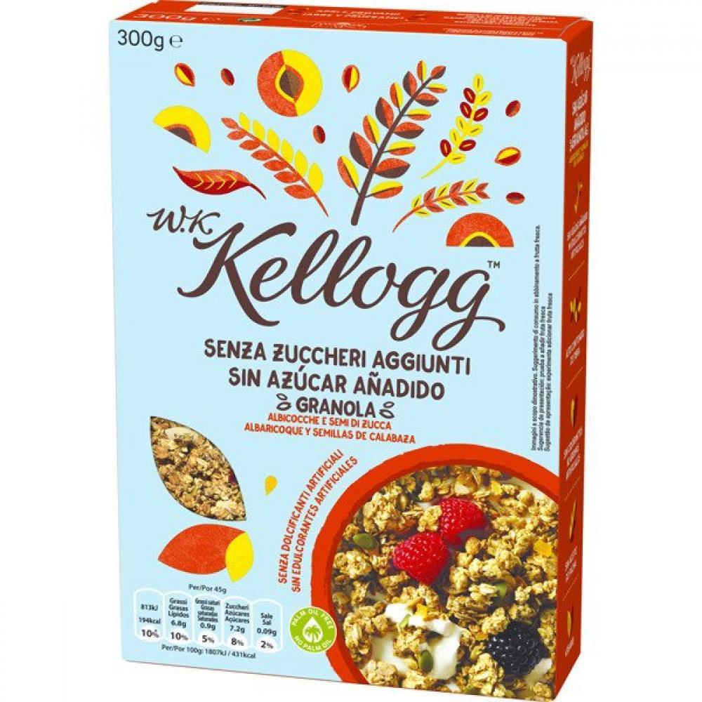Kelloggs Apricots and Pumpkin Seed Granola 300g