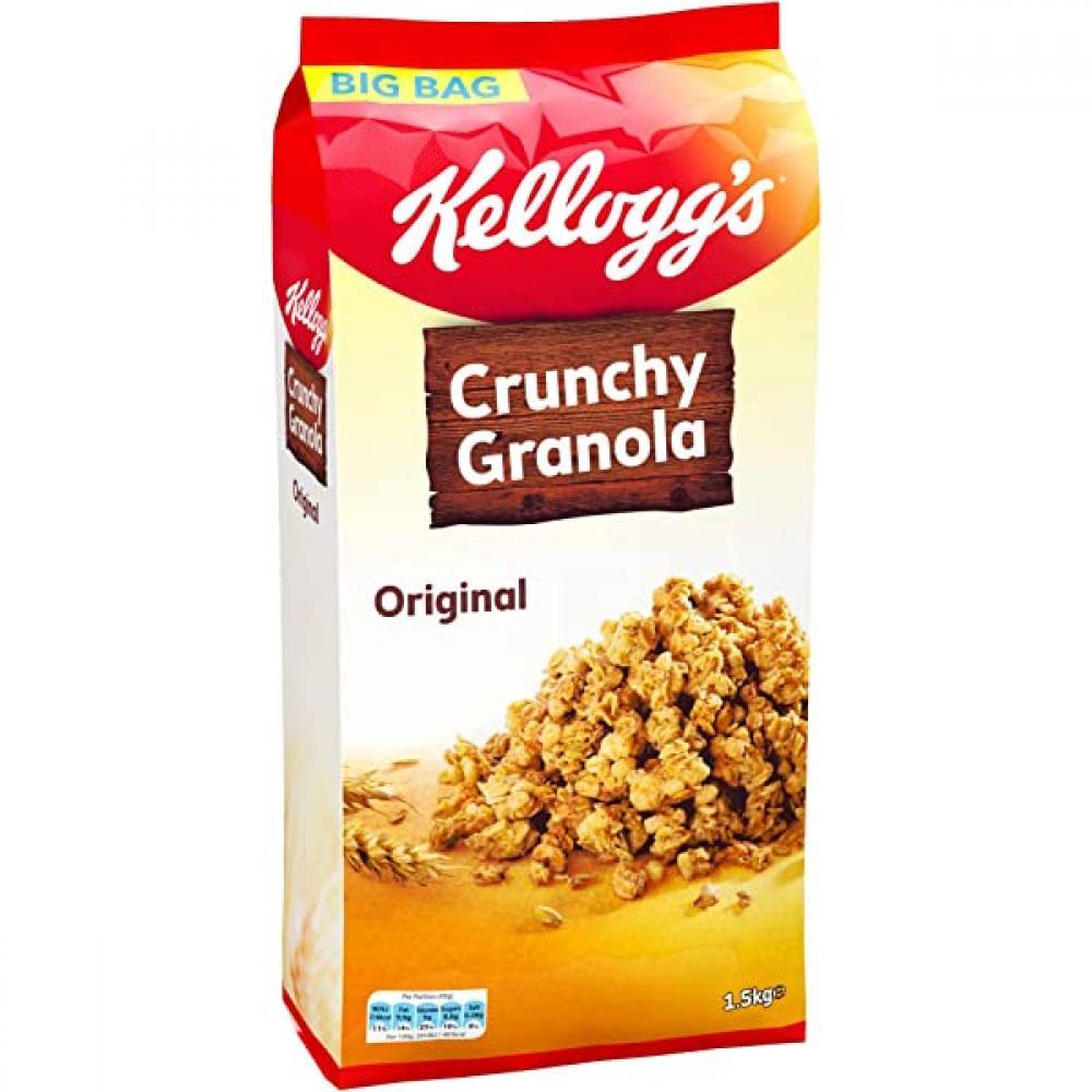 Kelloggs Crunchy Granola Original 1.5kg