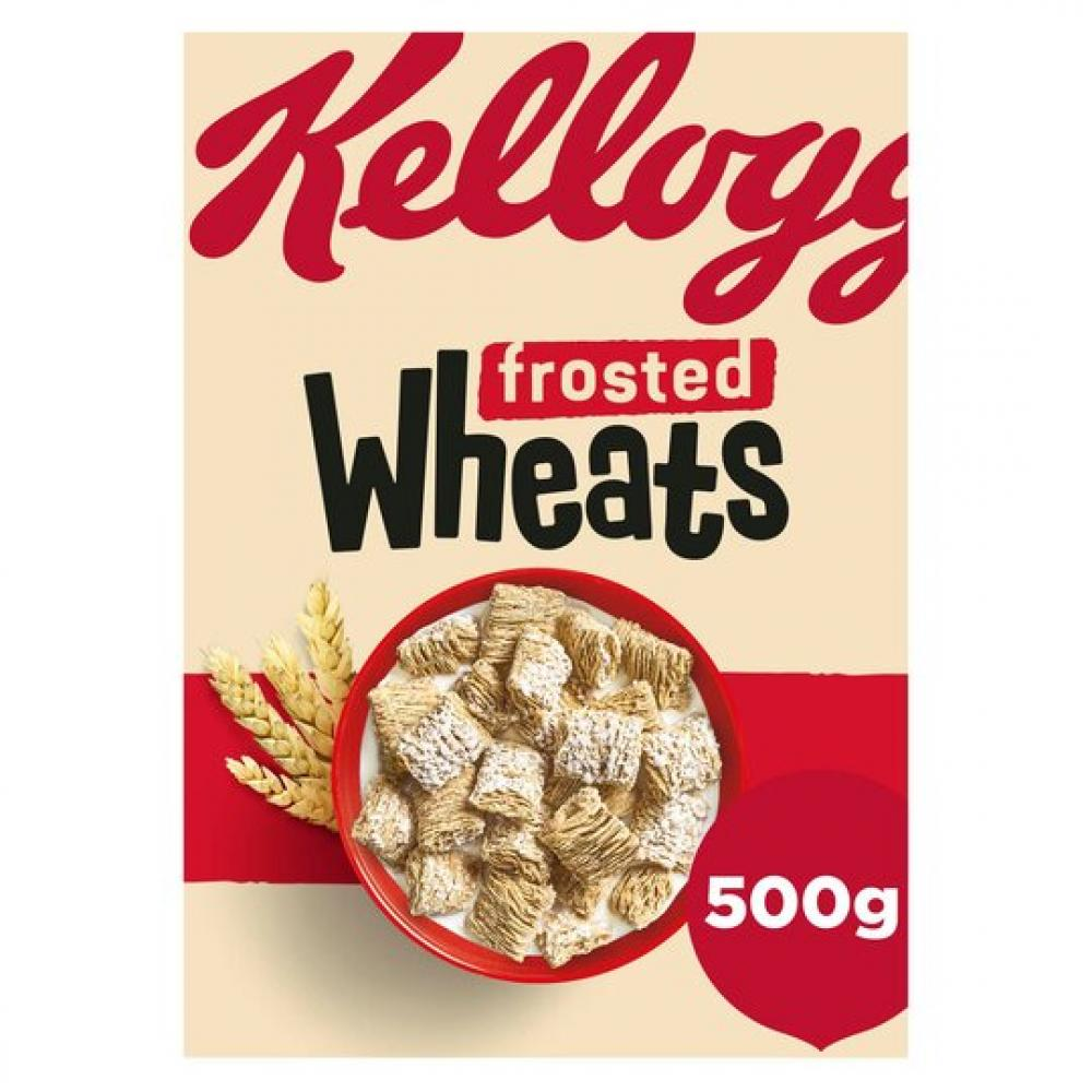 Kelloggs Frosted Wheats 500g