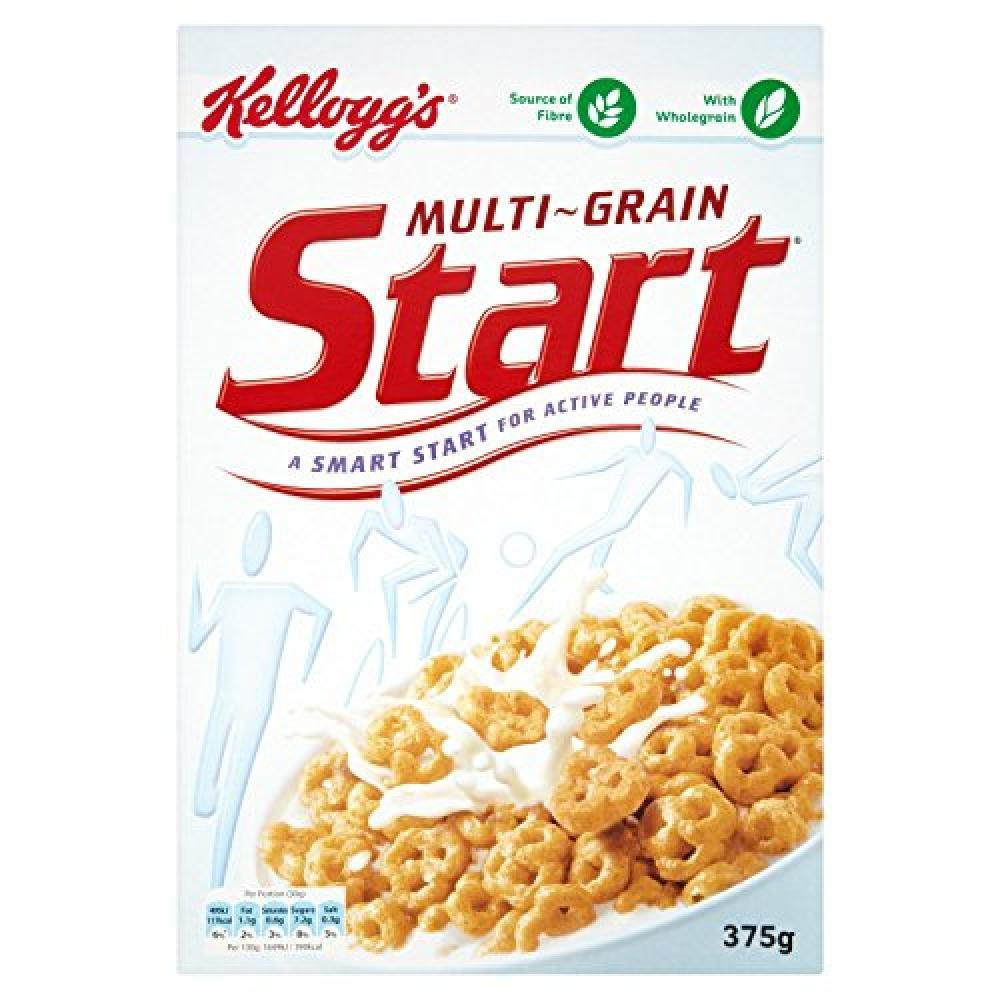 Kelloggs Multi-Grain Start Cereal 375g