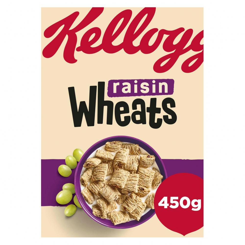 Kelloggs Raisin Wheats 450g