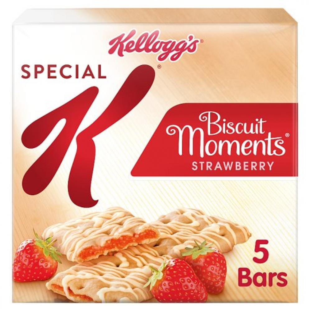 Kelloggs Special K Biscuit Moments Strawberry 25g x 5