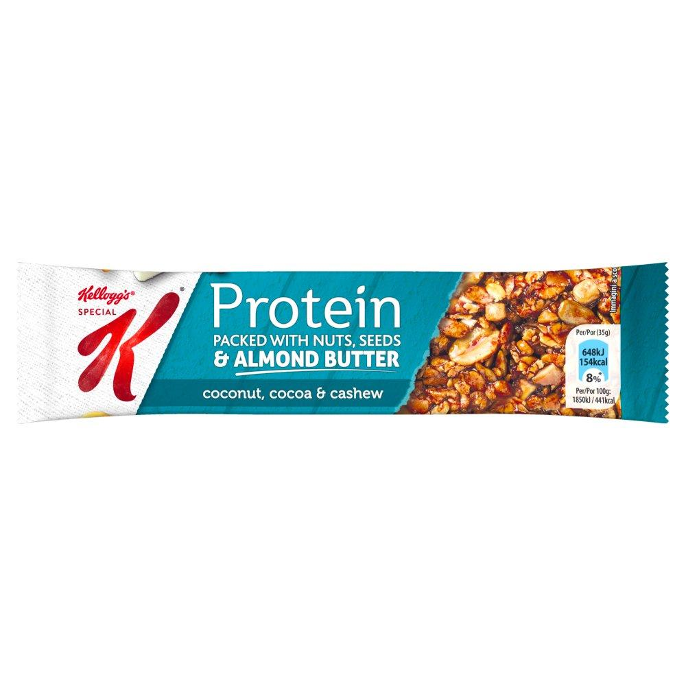 Kelloggs Special K Protein Bar Nuts Seeds and Almond Butter 35g