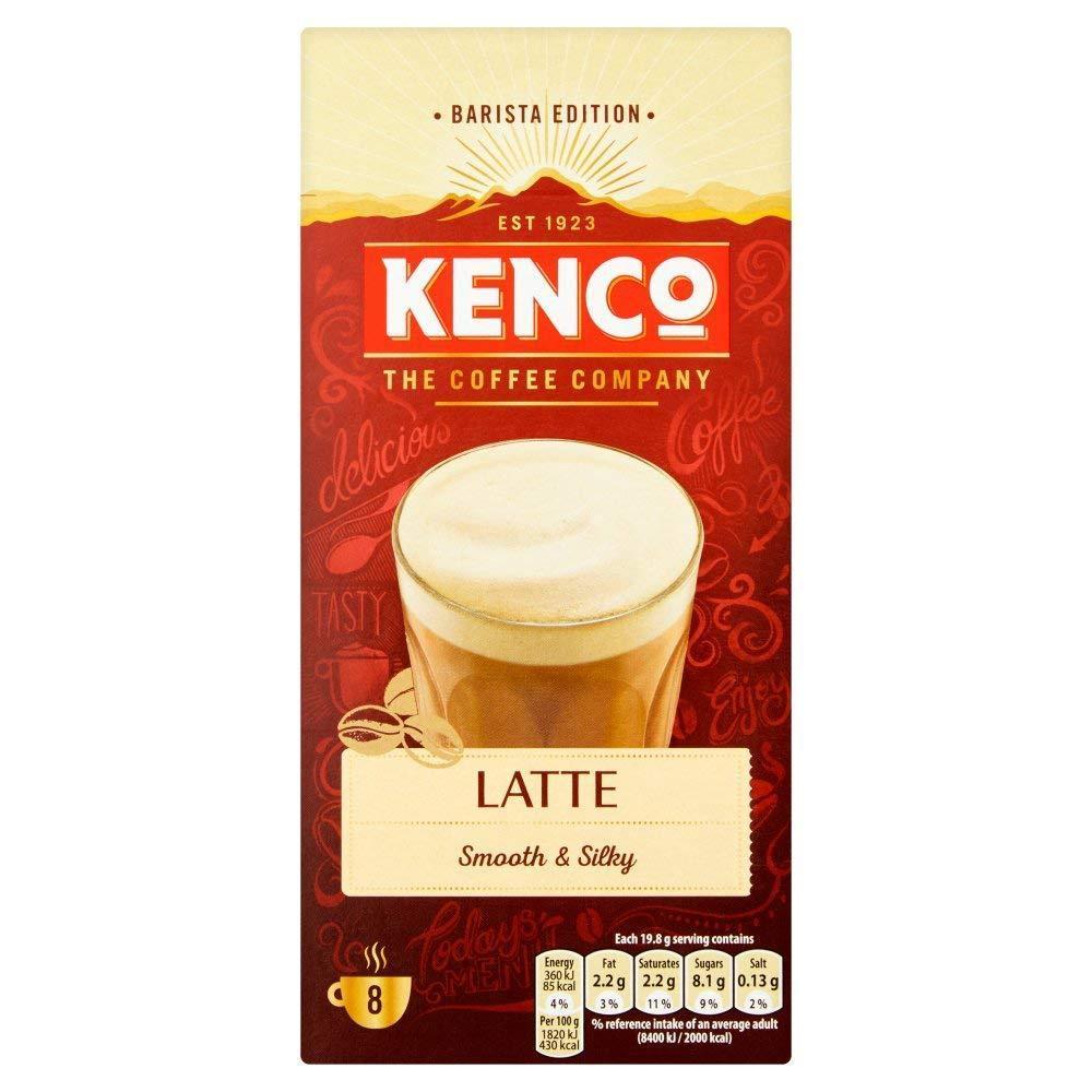 Kenco Latte 8 Sachets 158.4g