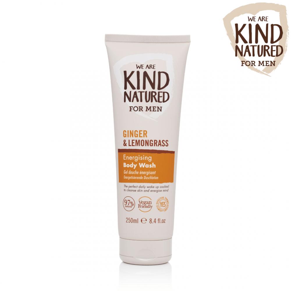 Kind Natured Ginger and Lemongrass Body Wash for Men 250 ml