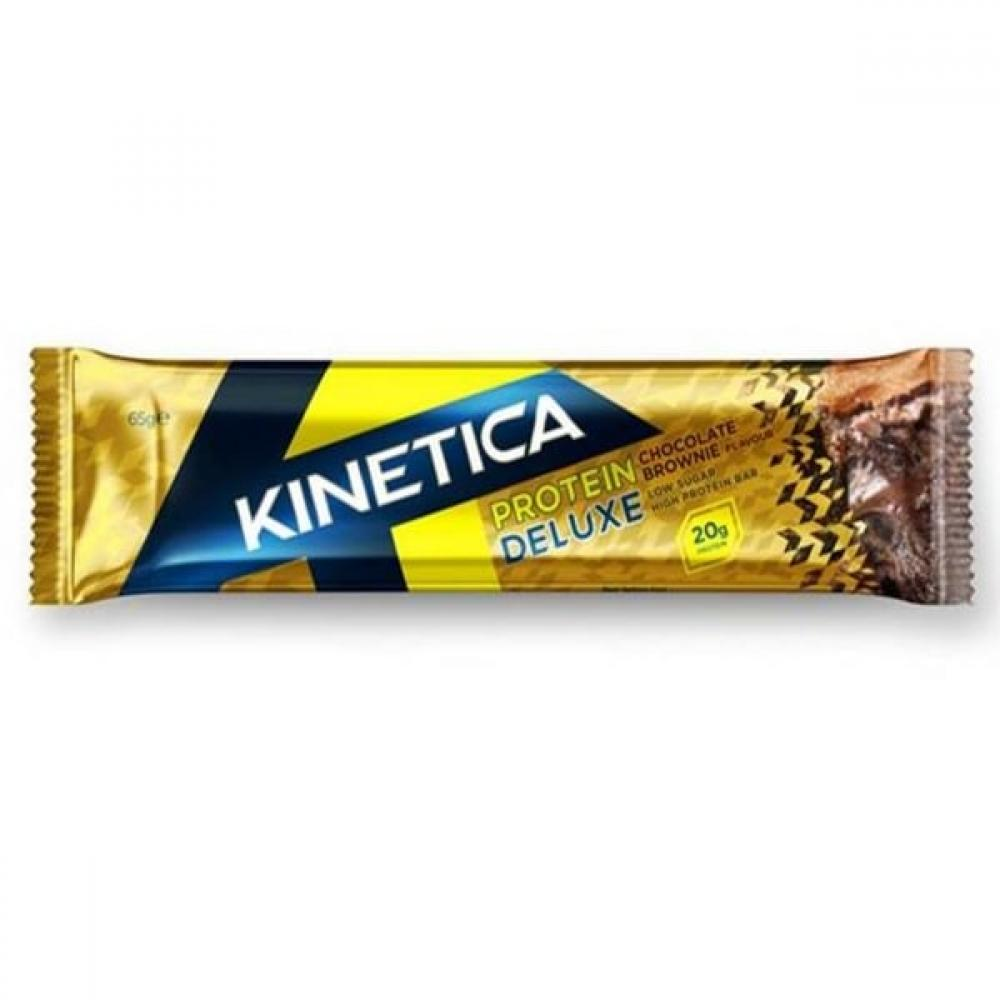 Kinetica Protein Deluxe Chocolate Brownie 65g