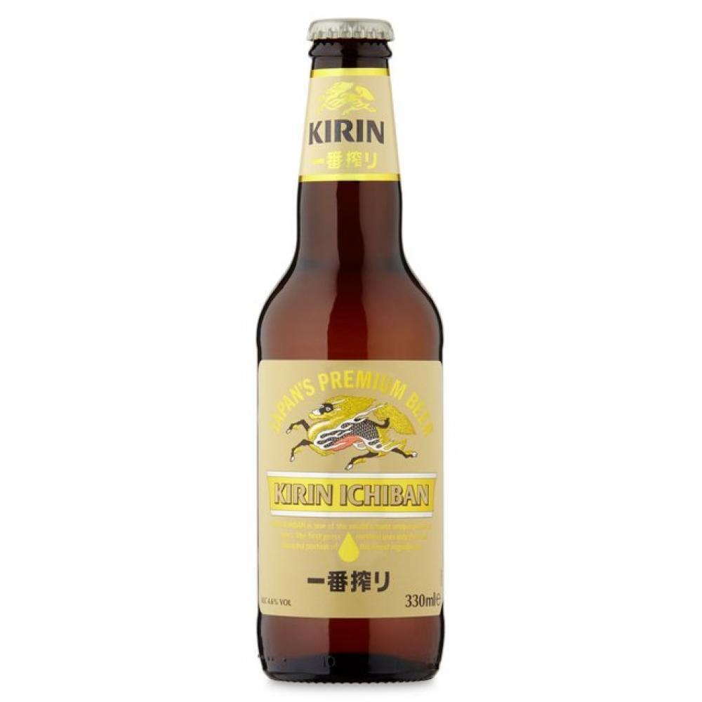 Kirin Kirin Ichiban Japans Premium Beer 330ml