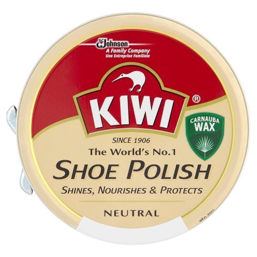 Kiwi Leather Polish Neutral 50 ml