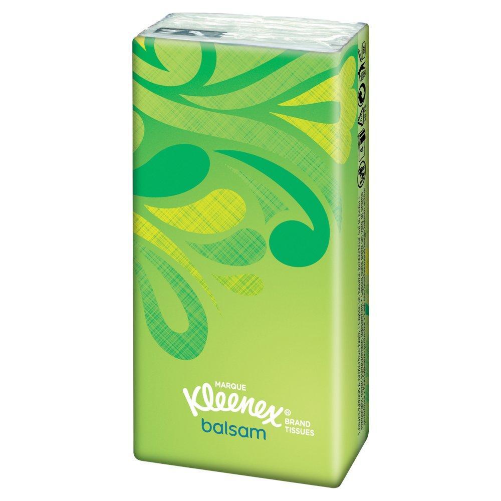 Kleenex Balsam Pocket Tissues 9 pack