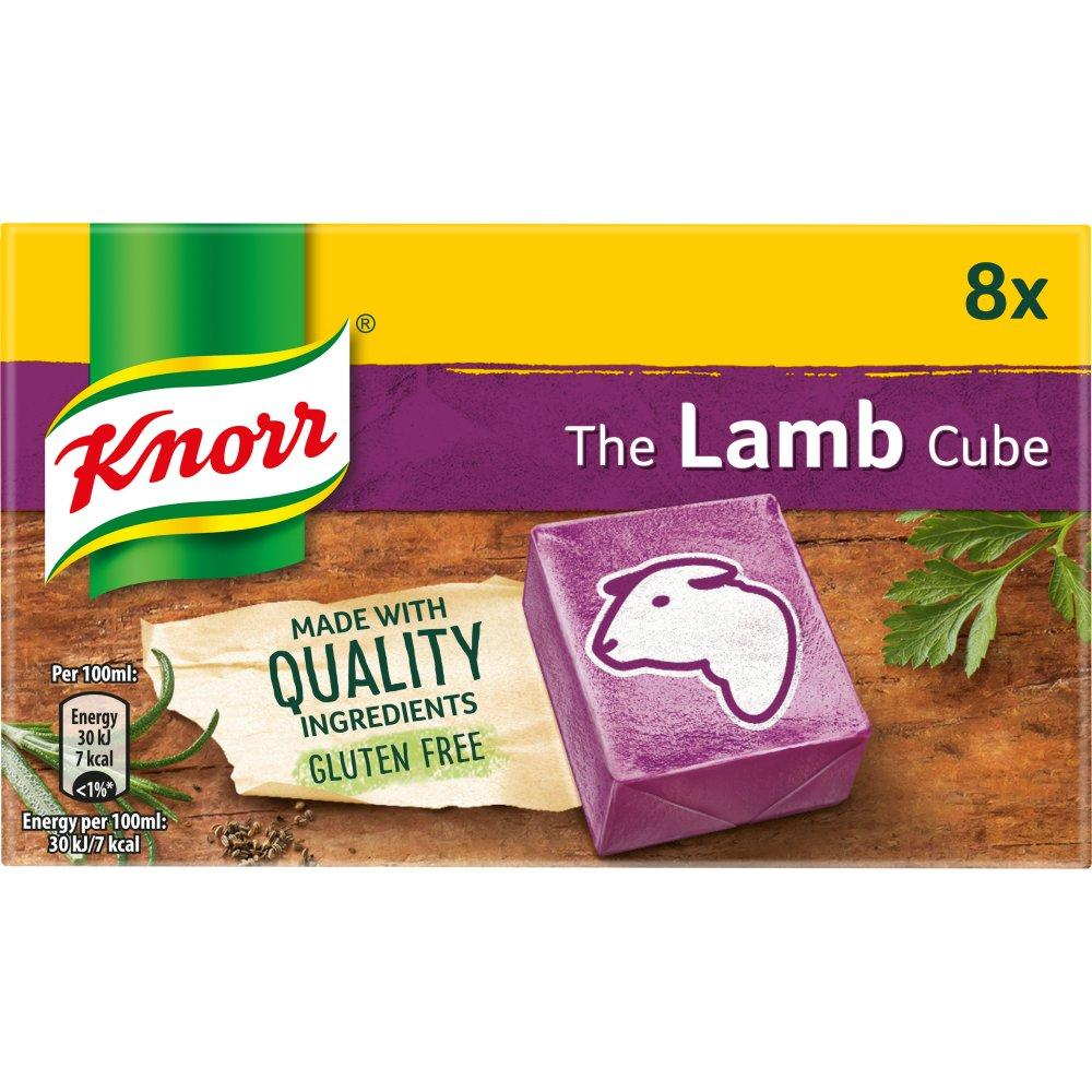 SUMMER SALE  Knorr 8 Lamb Stock Cubes 80g