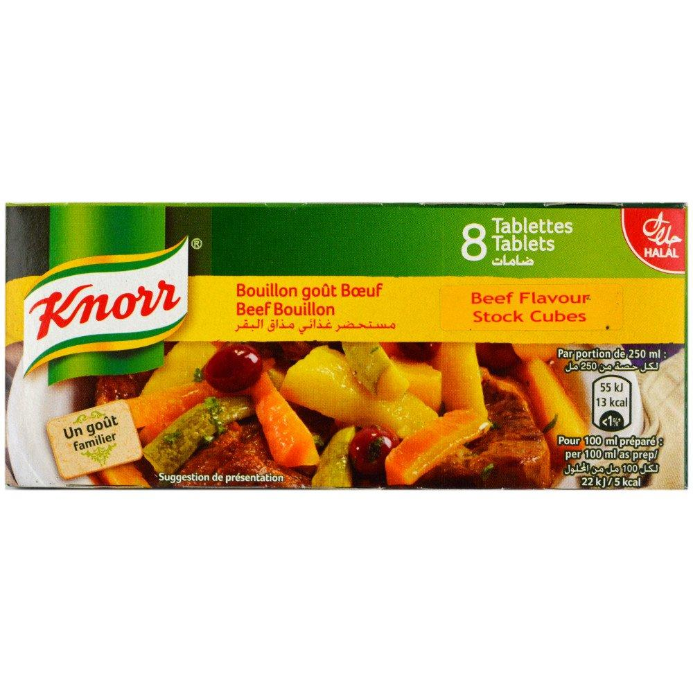 Knorr Beef Bouillon Stock Cubes 72g 8 pack