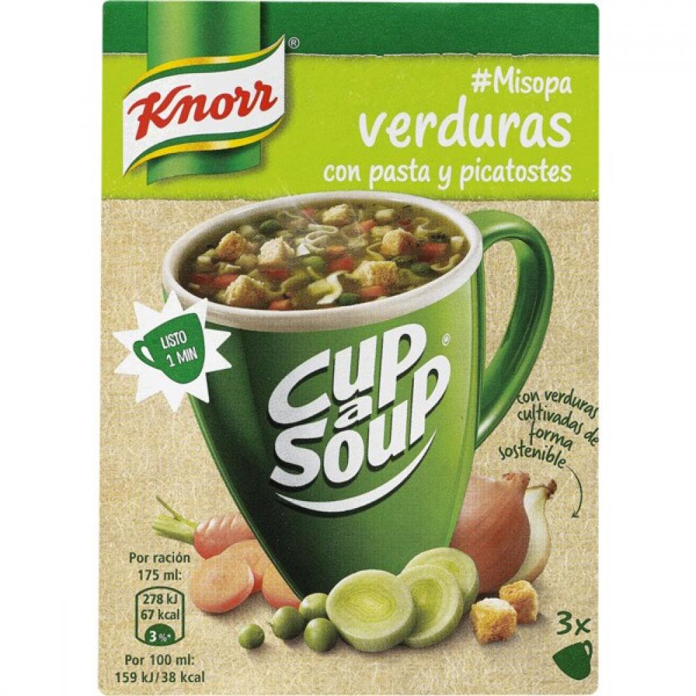 Knorr Cup a Soup Vegetables 3 x 16g
