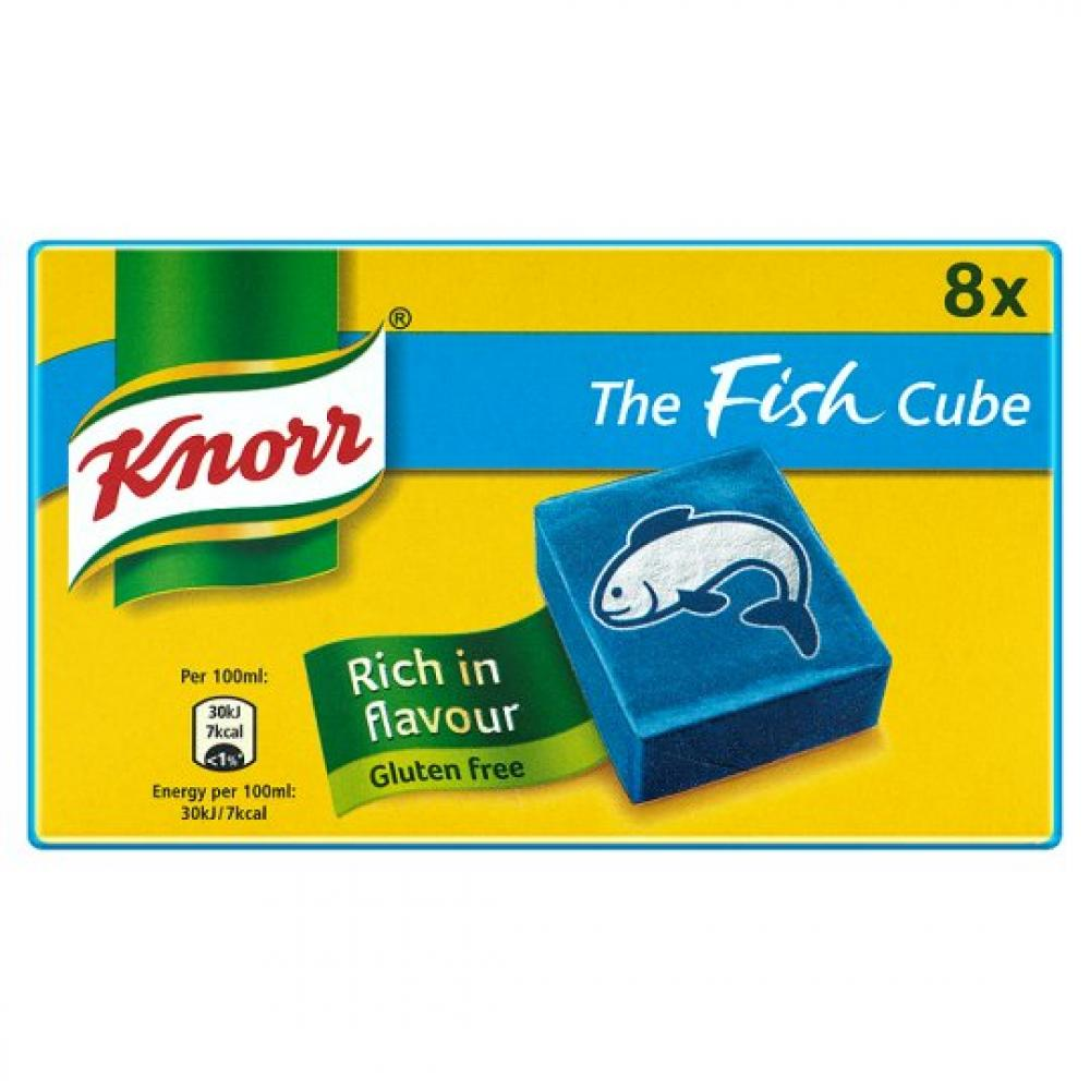 Knorr 8 Fish Stock Cubes 80g