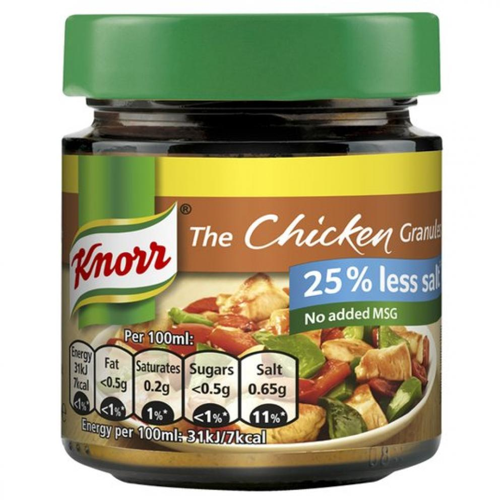 Knorr The Chicken Granules Reduced Salt 120g