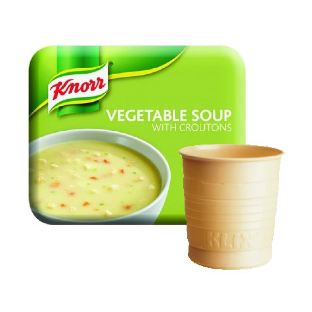 Knorr Vegetable Soup with Croutons 20 drinks