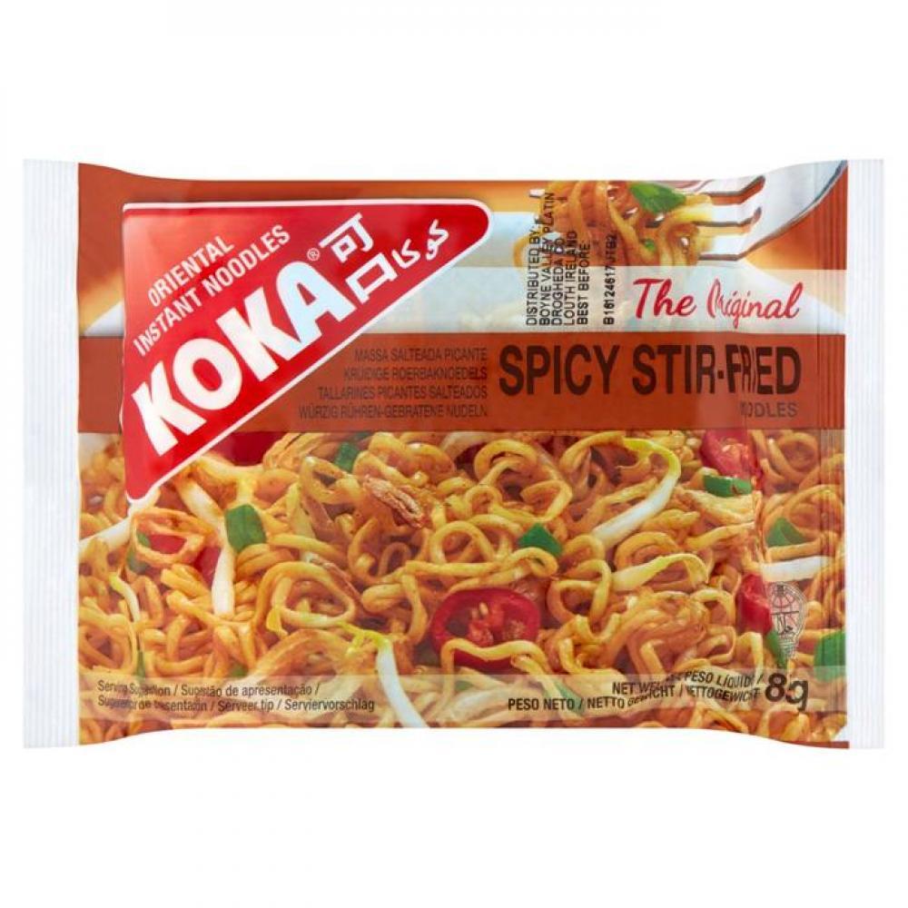 Koka Spicy Stir Fried Noodles 85g