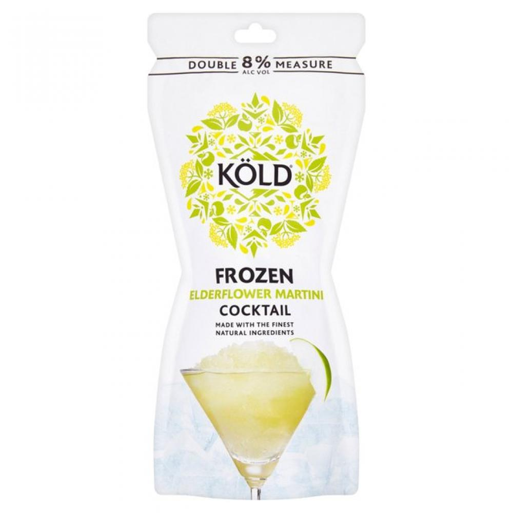 Kold Frozen Elderflower Martini Cocktail 250ml