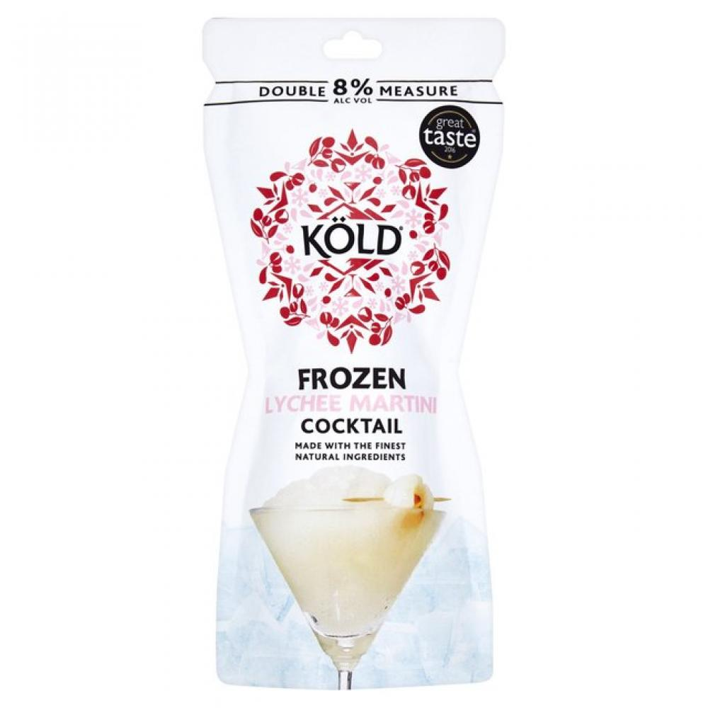 Kold Frozen Lychee Martini Cocktail 250ml