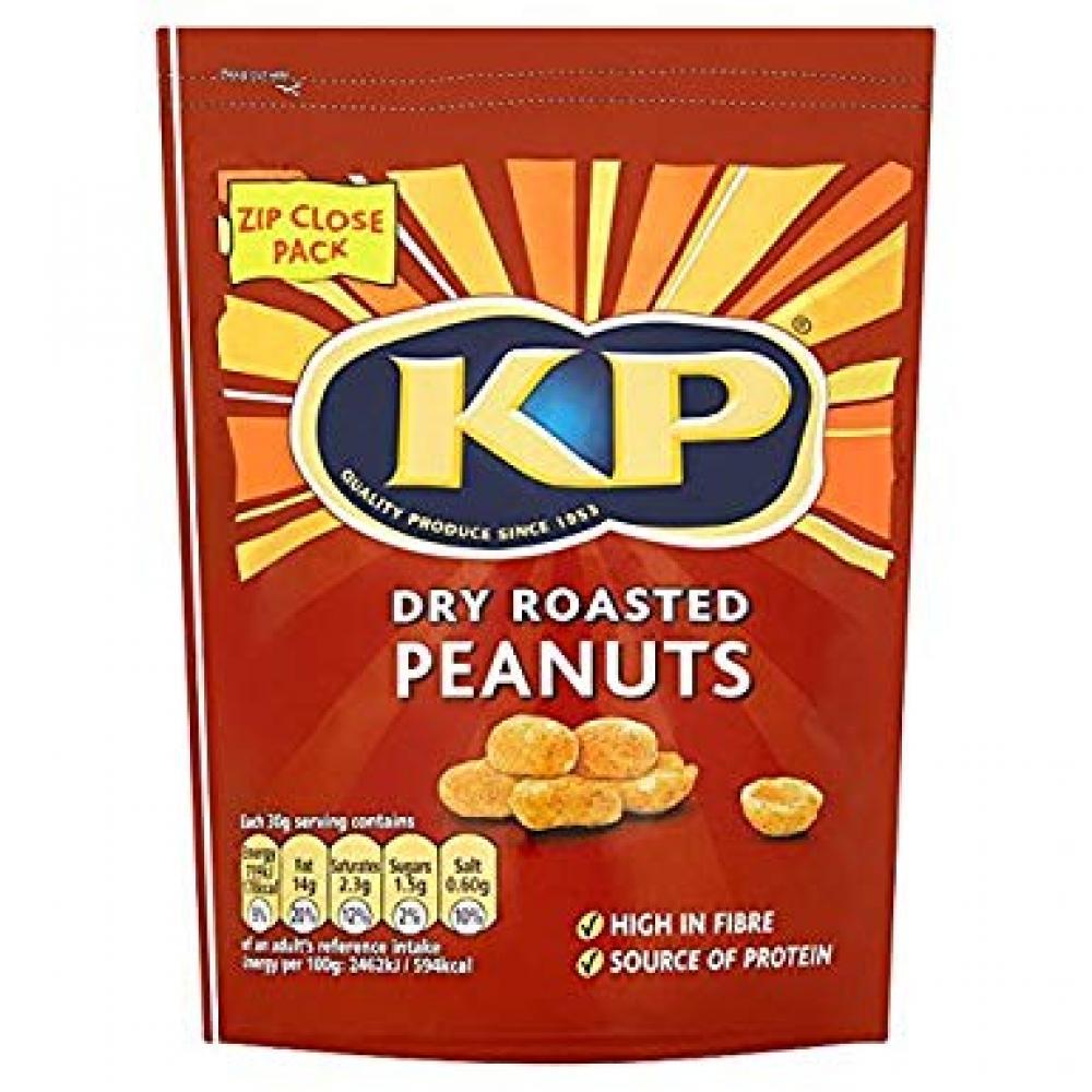 Kp Dry Roasted Peanuts 1Kg