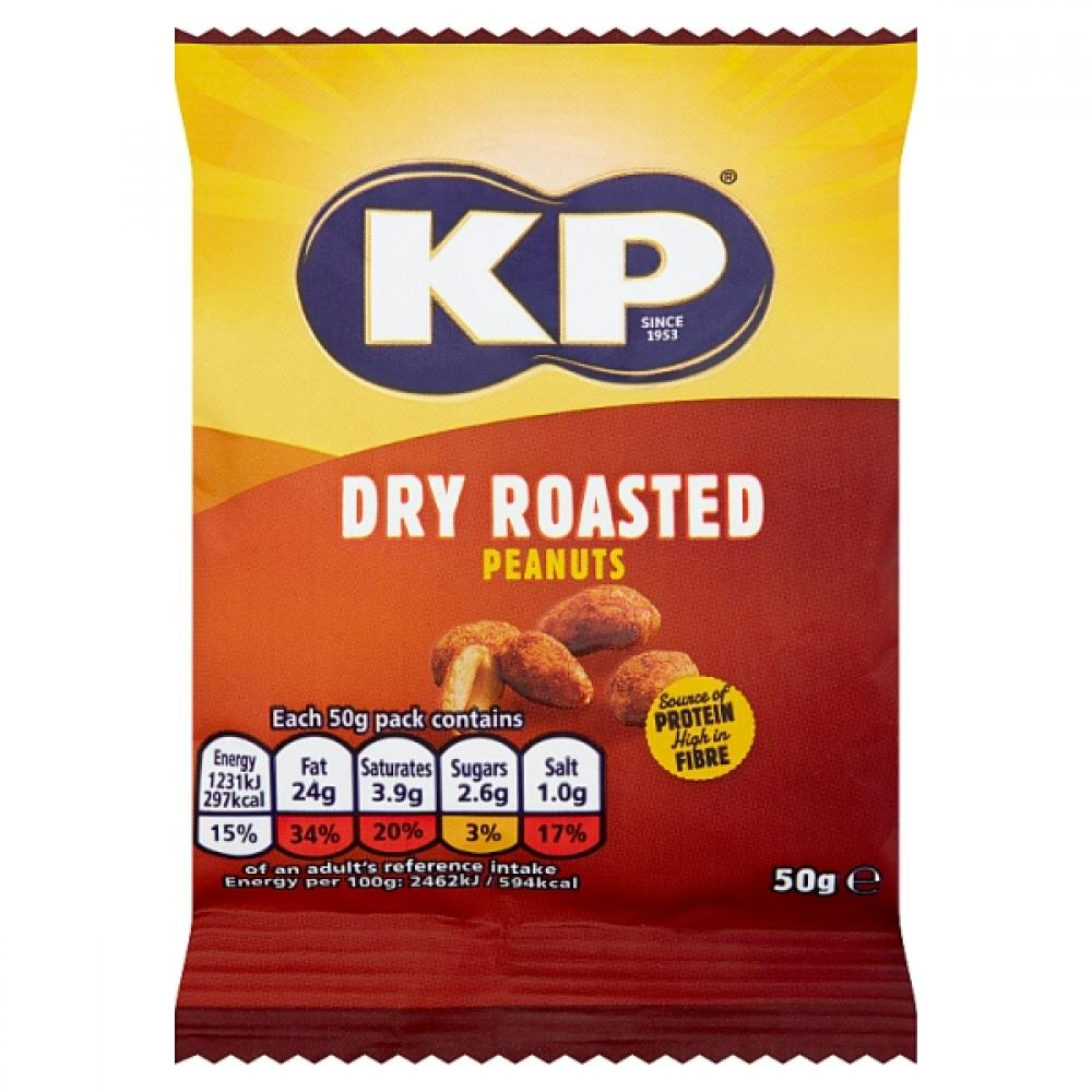 SALE  Kp Dry Roasted Peanuts 50g