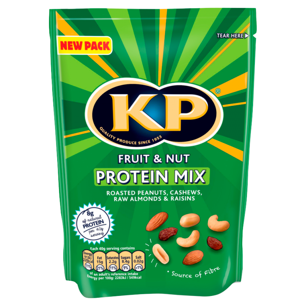 Kp Fruit and Nut Protein Mix 120g