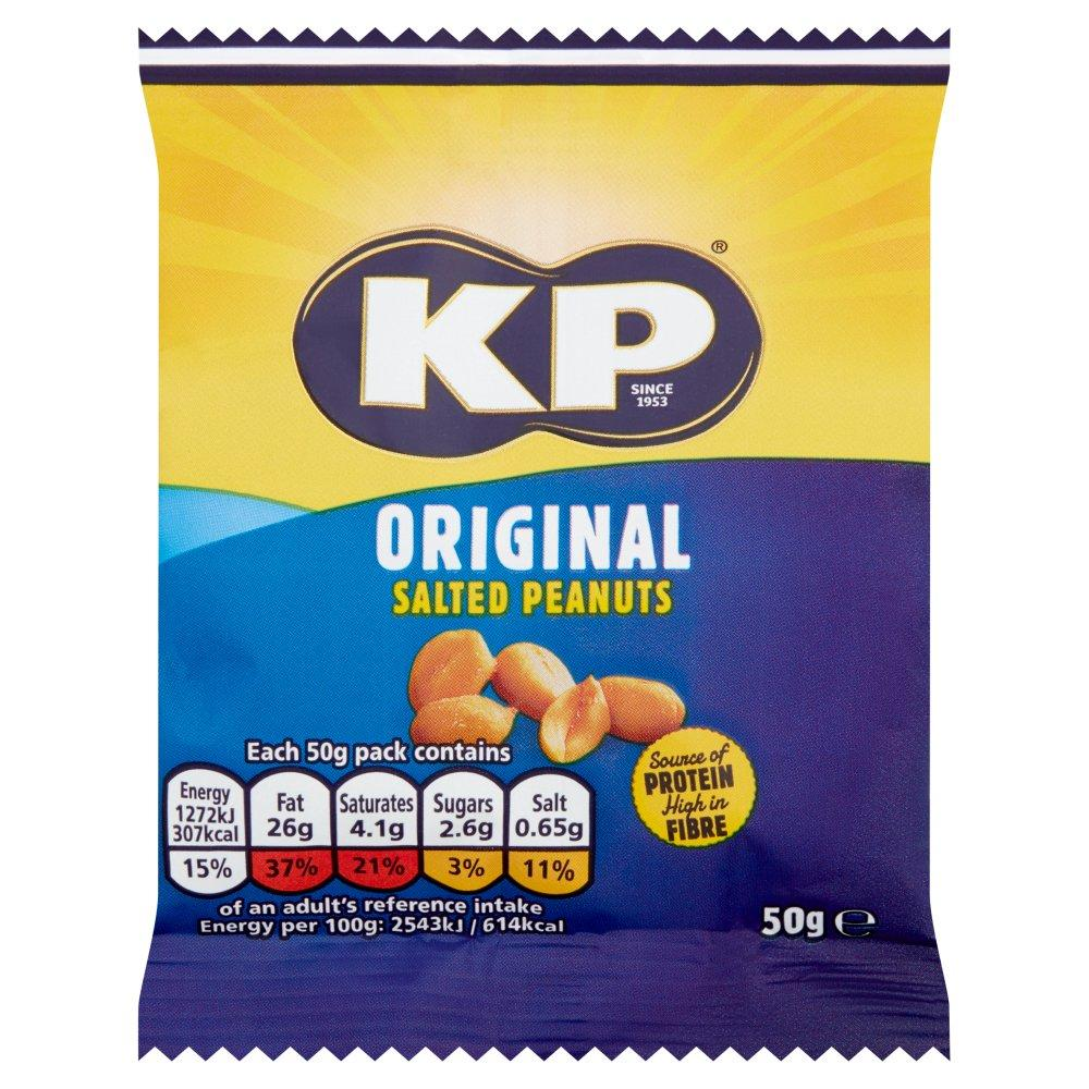 TODAY ONLY  Kp Original Salted Peanuts 50g