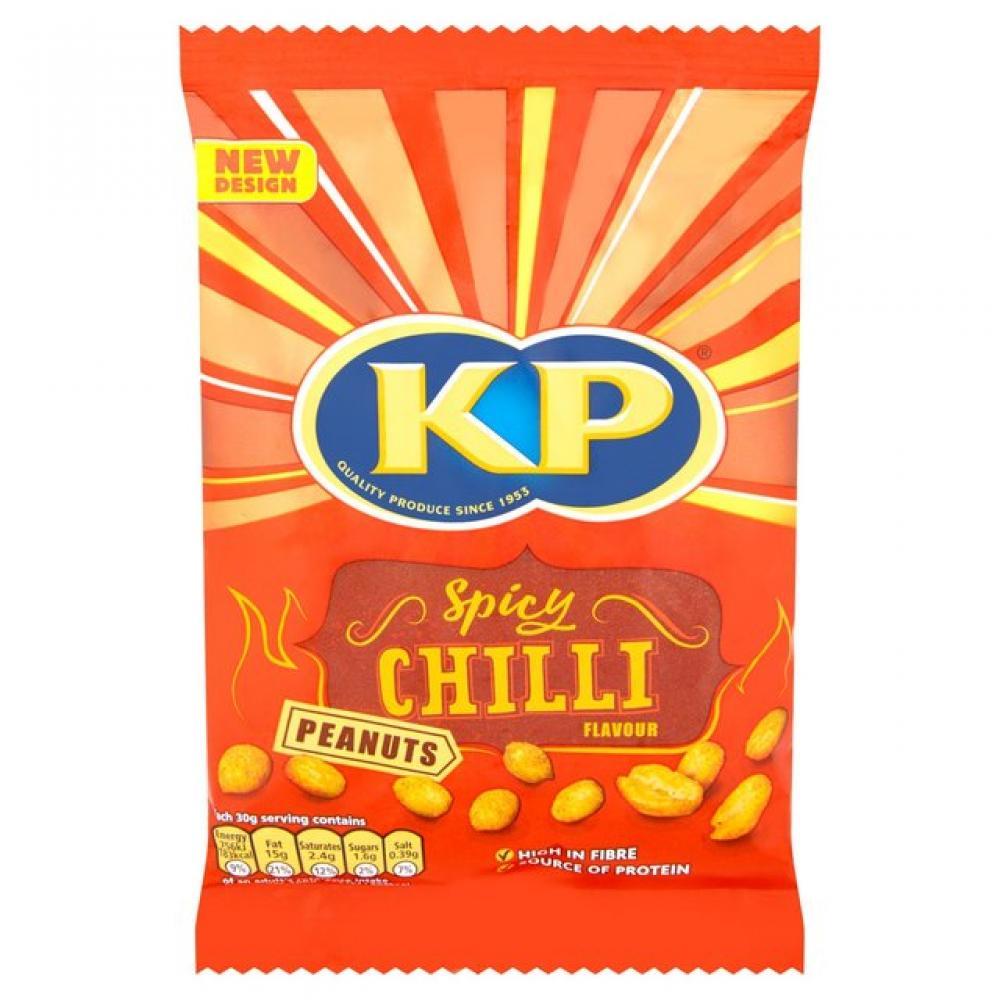 Kp Spicy Chilli Peanuts 225g