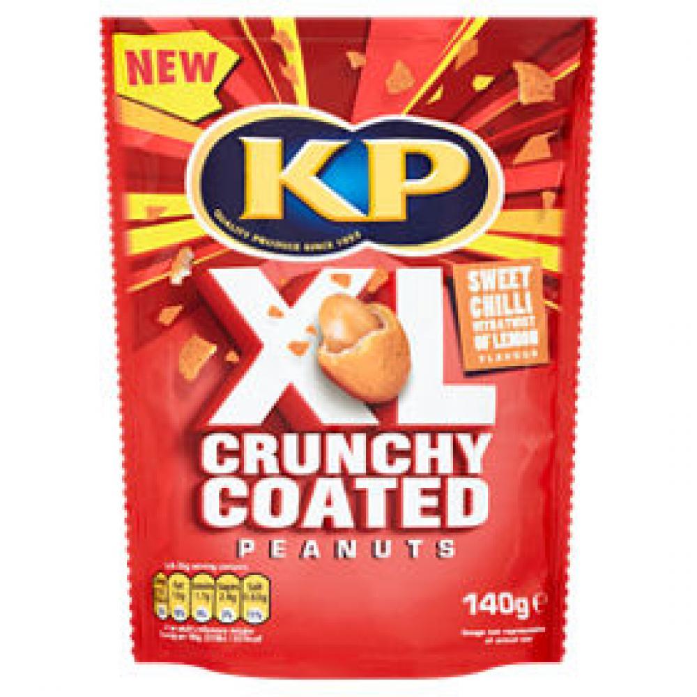 Kp XL Crunchy Coated Peanuts Sweet Chilli 140g