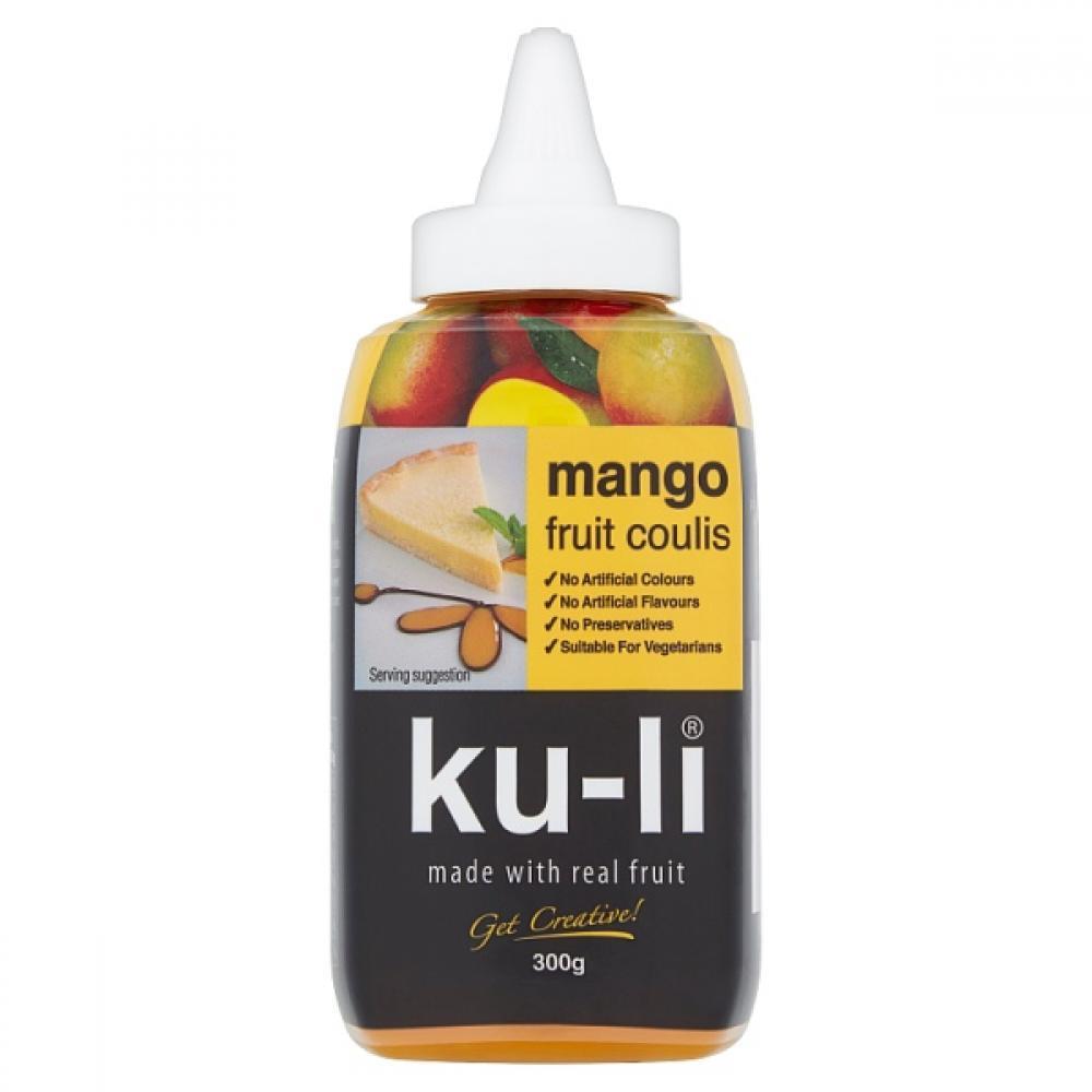 WEEKLY DEAL  Ku Li Mango Fruit Coulis 300g