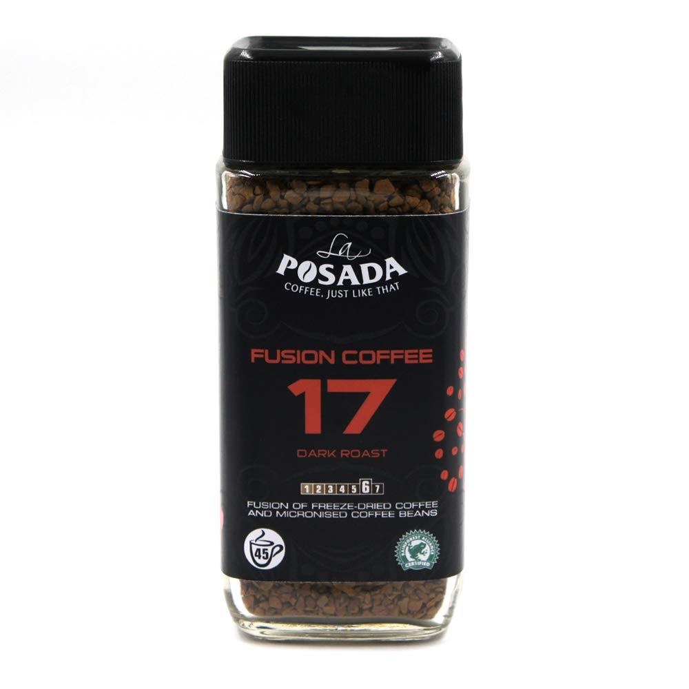 La Posada Velvet Dark 5 Percent Microgrind Instant Coffee Freeze Dried 90g
