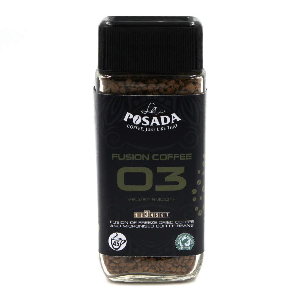 La Posada Velvet Smooth 5 Percent Microgrind Instant Coffee Freeze Dried 90g