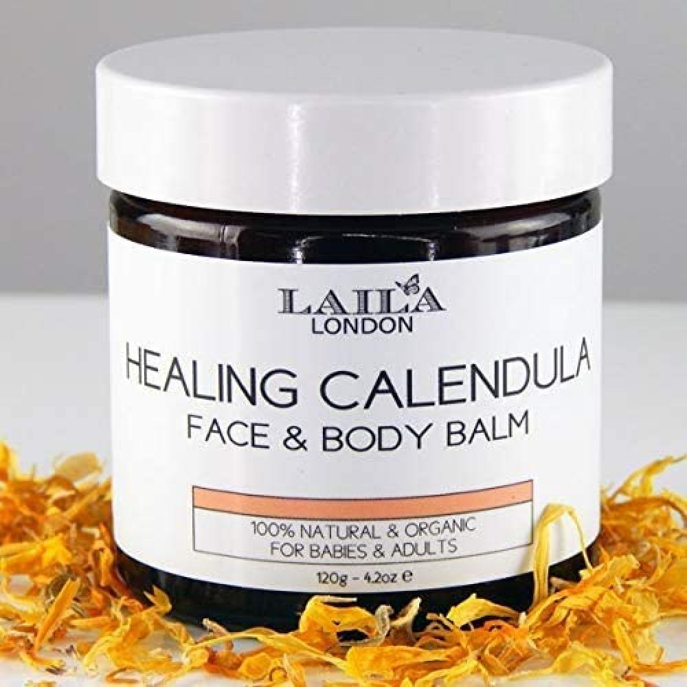 Laila London Healing Calendula Face and Body Balm 120 g