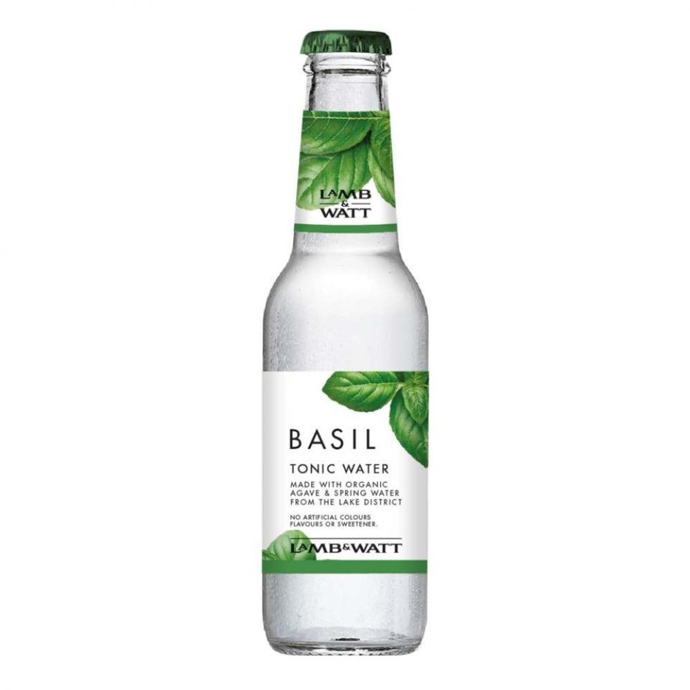 Lamb and Watt Basil Tonic Water Bottle 200ml