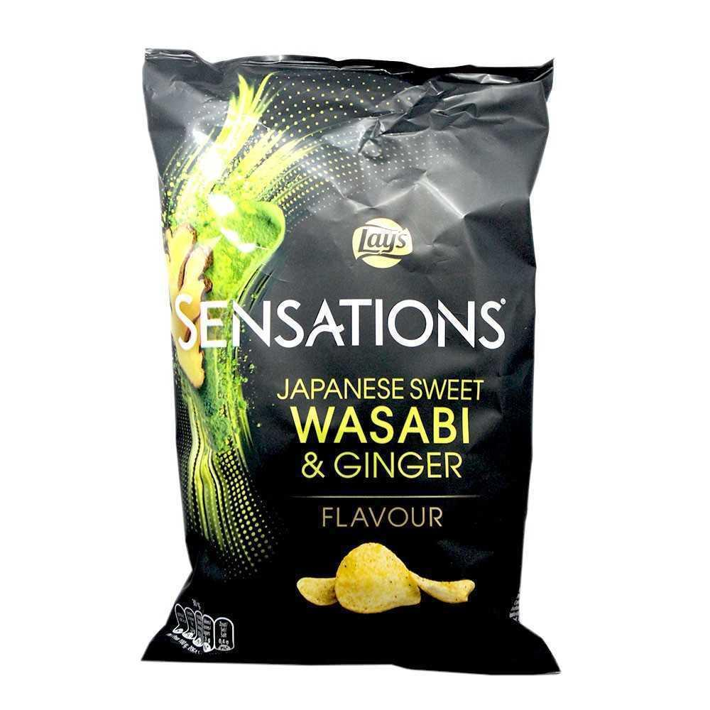 Lays Sensations Chips Japanese Sweet Wasabi and Ginger 150g