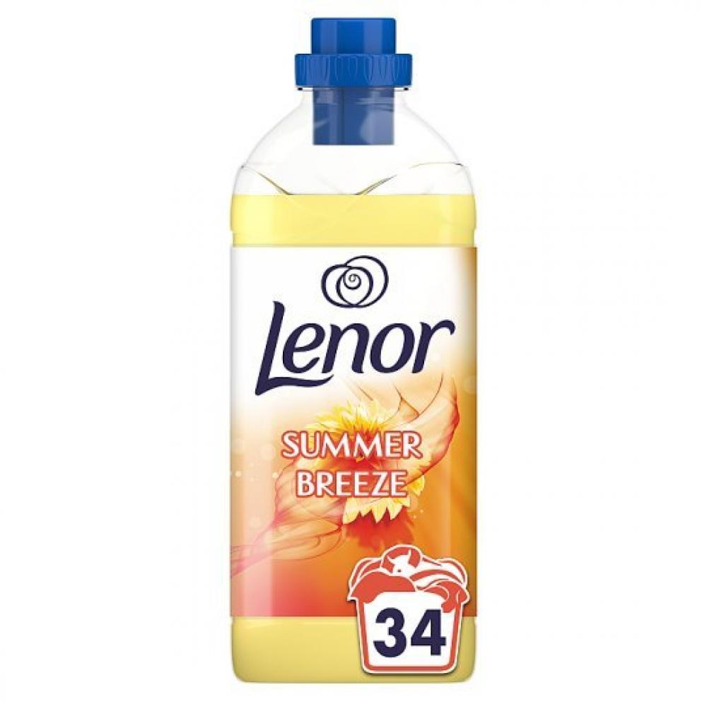 Lenor Summer Breeze Fabric Conditioner 1.19l 34 washes